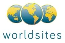 Worldsites Logo ohne Claim, 4-farbig