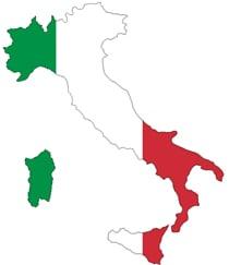 Lokale Partnerbüros in Italien