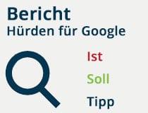 Hürden für Google beseitigen