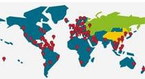Partnerbüros in weltweit 87 Ländern