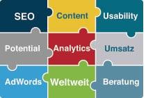 Puzzleteile für erfolgreiches Online Performance-Marketing